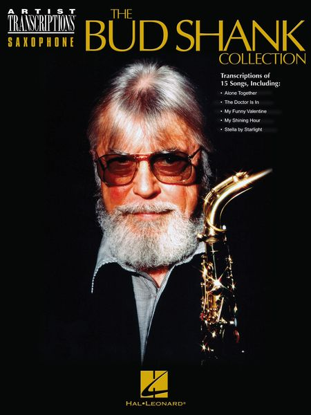 Bud Shank Collection : Saxophone Artist Transcription.