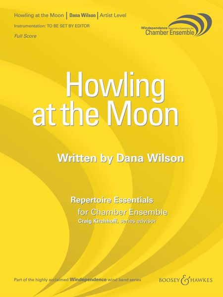 Howling At The Moon : For Saxophone Quartet.