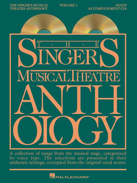 Singer's Musical Theatre Anthology : Duets, Vol. 1.