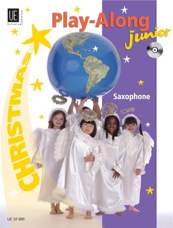 Christmas Play-Along Junior : For Saxophone / Arranged By Richard Graf.