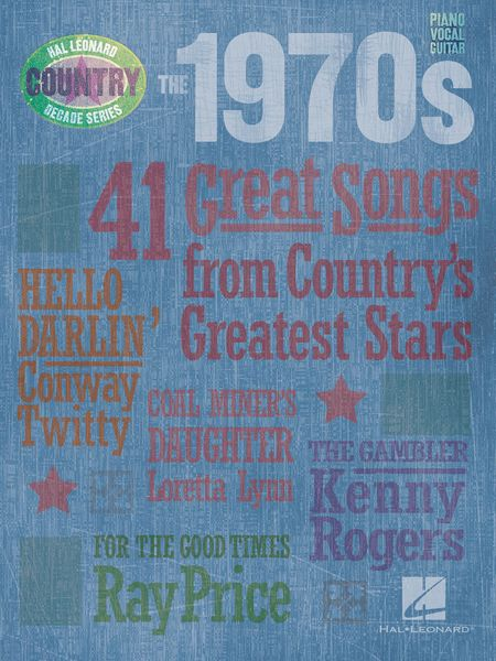 1970s : Country Decade Series.