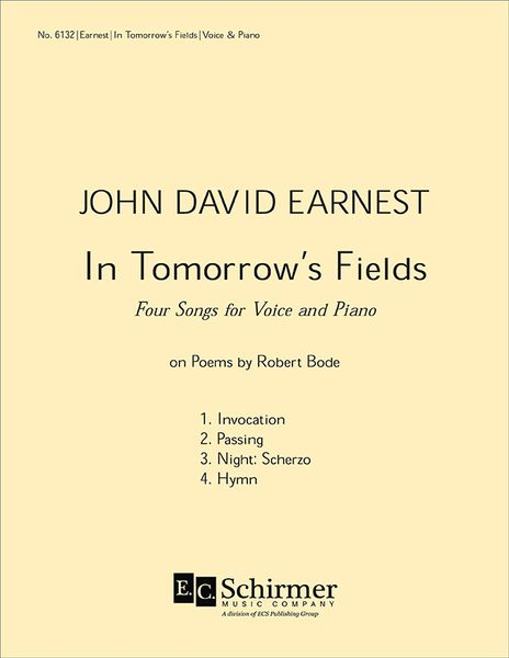 In Tomorrow's Fields : Four Songs For Voice And Piano (2002).