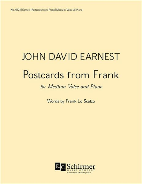 Postcards From Frank : For Medium Voice And Piano (1995).