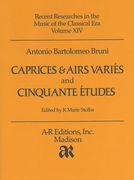 Caprices & Airs Variés and Cinquante Études : For Violin / edited by K Marie Stolba.