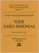 Four Early Sinfonias / edited by Ewald V. Nolte.