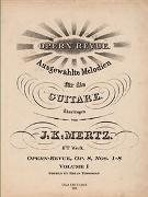 Opern-Revue, Op. 8, Vol. I, Nos. 1-8 : For Guitar / edited by Brian Torosian.