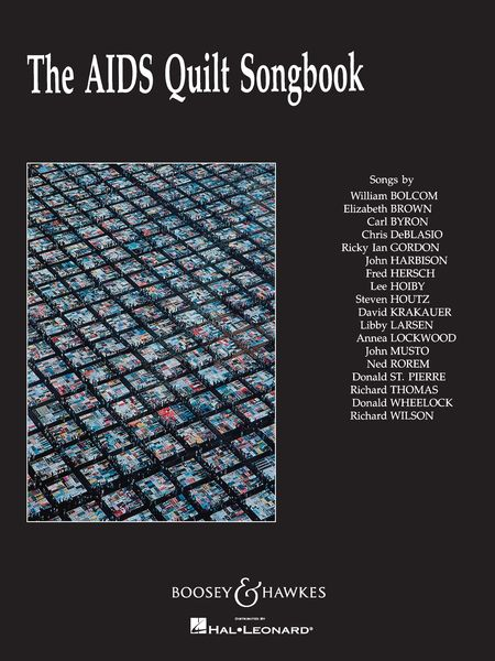 Aids Quilt Songbook / Songs by William Bolcom, Elizabeth Brown, Carl Byron,...