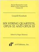 Six String Quartets, Op. 32 and Op. 33 / edited by Roger Hickman.