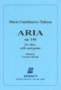 Aria, Op. 146 : For Oboe, Cello and Guitar / edited by Lorenzo Micheli.