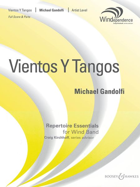 Vientos Y Tangos : For Concert Band.