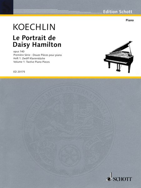 Portrait De Daisy Hamilton, Op. 140, Vol. 1 : For Piano / edited and arranged by Robert Orledge.