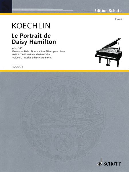 Portrait De Daisy Hamilton, Op. 140, Vol. 2 : For Piano / edited and arranged by Robert Orledge.