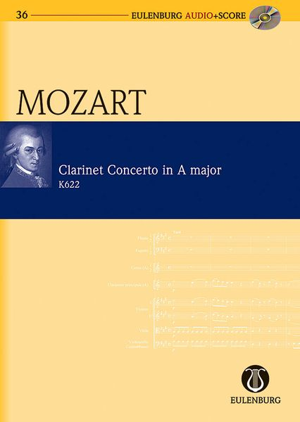 Concerto In A Major, K. 622 : For Clarinet and Orchestra / edited by Richard Clarke.