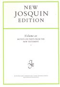 Motets On Texts From The New Testament, Vol. 2 / edited by Martin Just.
