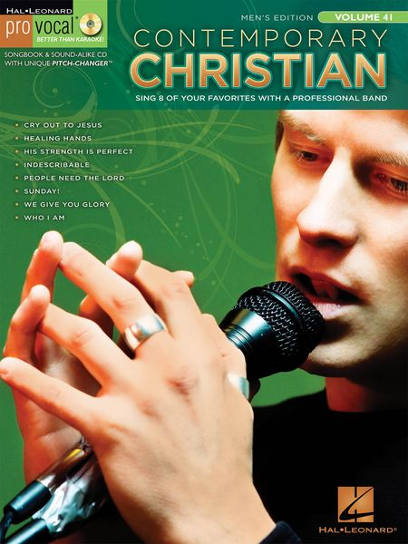 Contemporary Christian : Sing 8 Of Your Favorites With A Professional Band - Men's Edition.