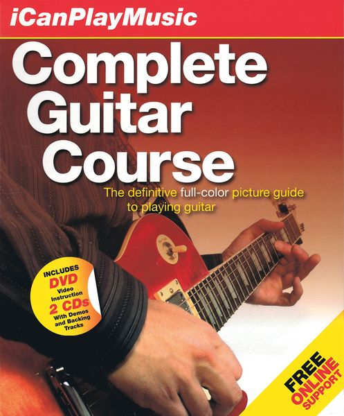 Complete Guitar Course : I Can Play Music.