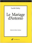 Mariage D' Antonio / edited by Robert Adelson.