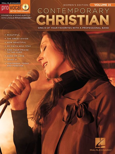 Contemporary Christian : Sing 8 Of Your Favorites With A Professional Band / Women's Edition.