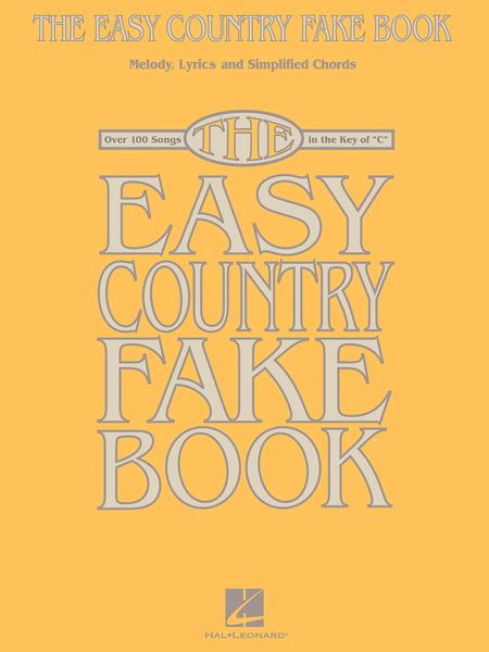 Easy Country Fake Book.