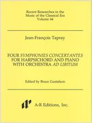Four Symphonies Concertantes : For Harpsichord and Piano With Orchestra Ad Libitum.