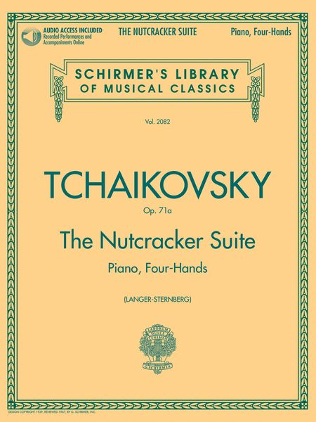 Nutcracker Suite, Op. 71a : For Piano, Four-Hands / arranged by E. Langer.