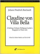 Claudine von Villa Bella / edited by Robert Meikle and David Hill.