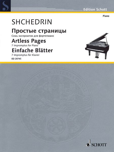 Artless Pages : 7 Impromptus For Piano (2009).