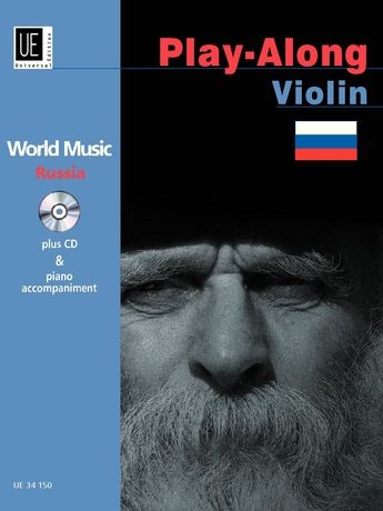 World Music - Russia : Play-Along Violin / edited by Iwan Malachowskij.