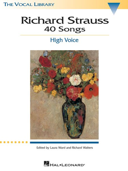 Forty Songs : For High Voice and Piano / edited by Laura Ward and Richard Walters.