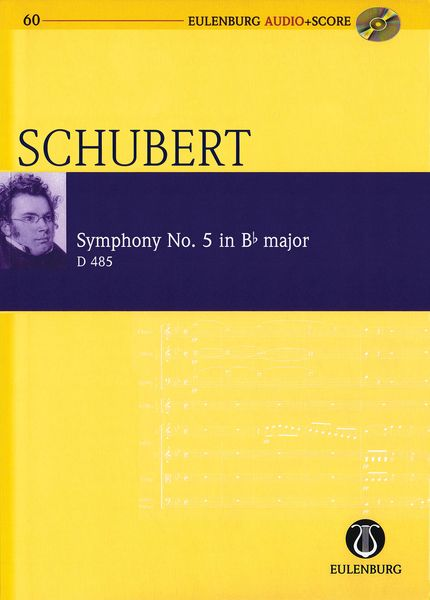Symphony No. 5 In B Flat Major, D 485 / edited by Richard Clarke.