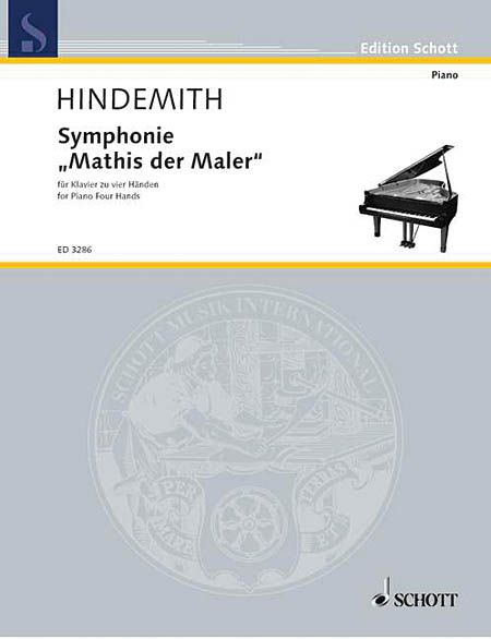 Symphonie Mathis der Maler : For Piano Duet / transcribed by The Composer.