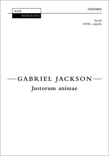 Justorum Animae : For SATB Choir A Cappella.