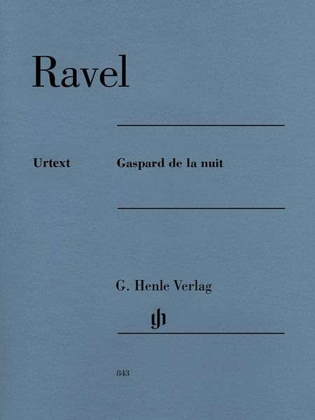 Gaspard De la Nuit : For Piano / edited by Peter Jost.