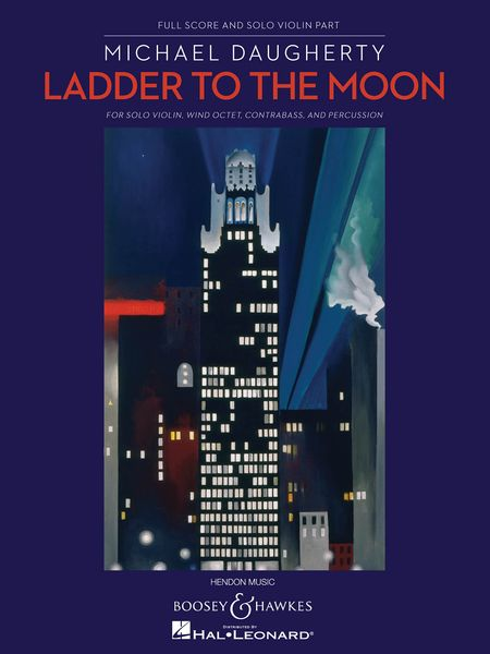 Ladder To The Moon : For Solo Violin, Wind Octet, Contrabass and Percussion (2006).