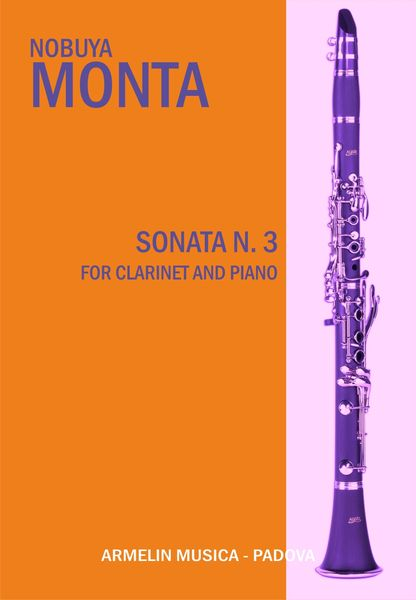 Sonata N. 3 : For Clarinet and Piano.