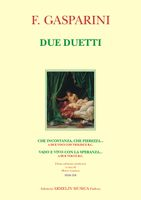 Due Duetti / edited by Marco Lazzara.