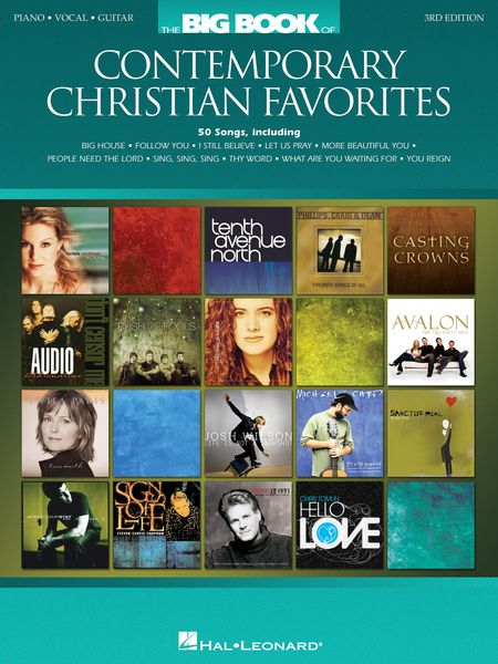 Big Book Of Contemporary Christian Favorites - 3rd Edition.