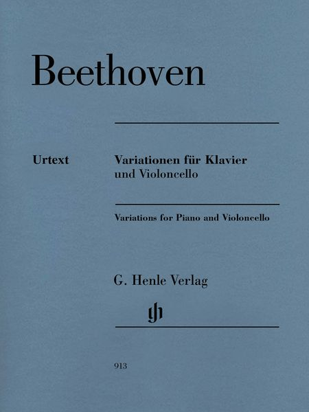 Variations : For Violoncello and Piano / edited by Jens Dufner.