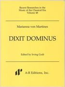 Dixit Dominus / edited by Irving Godt.