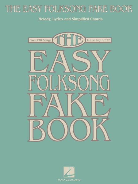 Easy Folksong Fake Book.