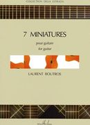 Seven Miniatures : For Guitar.