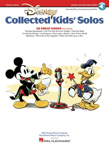 Disney Collected Kids' Solos.
