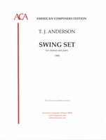 Swing Set : For Clarinet and Piano.