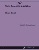 Flute Concerto In A Minor / edited by Richard Goebel.