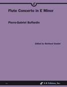 Flute Concerto In E Minor / edited by Reinhard Goebel.