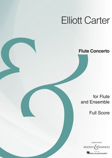 Flute Concerto : For Flute and Ensemble (2008) - 3rd Impression With Revisions, February 2010.