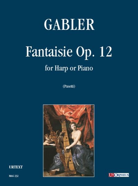 Fantaisie, Op. 12 : For Harp Or Piano / edited by Anna Pasetti.