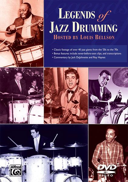 Legends Of Jazz Drumming, Complete / Hosted by Louis Bellson.