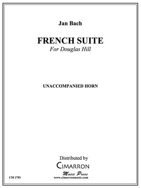 French Suite : For Unaccompanied Horn (1982).