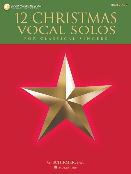 12 Christmas Vocal Solos For Classical Singers : High Voice.
